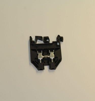 Black, Rail Connector