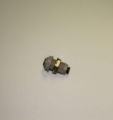 "3/4"" (inch) Plastic bulkhead fitting for 1/4""OD Tubing"