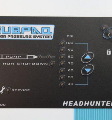 Subpaq pump control panel